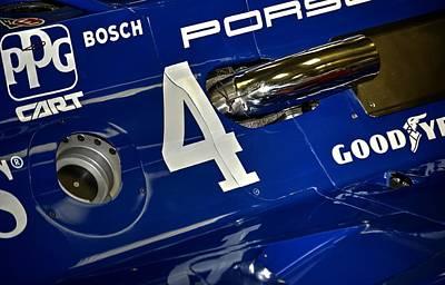 Photograph - Porsche Indy Car 21167 by Jerry Sodorff