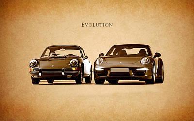 Photograph - Porsche by Mark Rogan