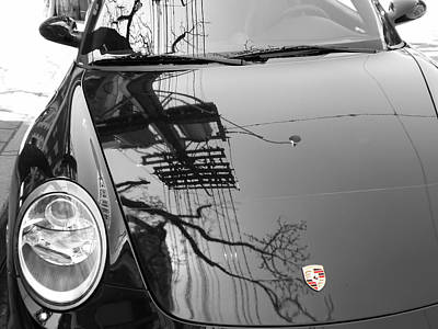 Porsche Reflections Art Print