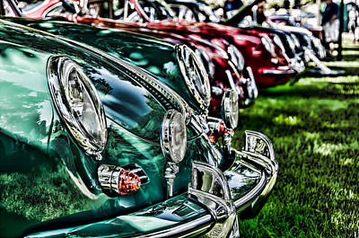 Photograph - Porsche Row by Barry C Donovan