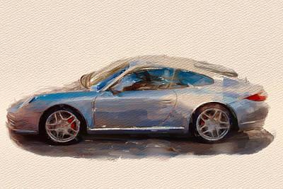 Porsche Sport Art Print