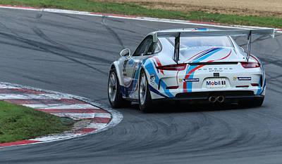 Photograph - Porsche Supercup by David Warrington