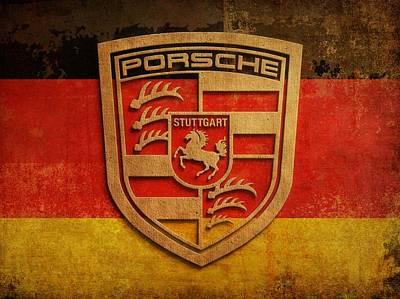 Digital Art - Porsche Vintage  by Dan Haraga