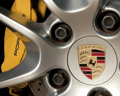 Porsche Wheel Detail #2 Art Print