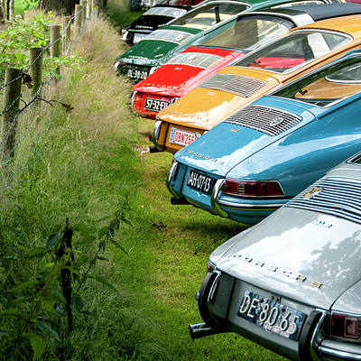 912 Photograph - Porsches 912 Asses by 2bhappy4ever