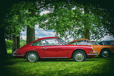912 Photograph - Porsches 912 Vintage by 2bhappy4ever