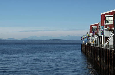 Photograph - Port 70, Seattle by Mary Capriole