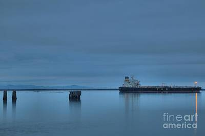 Photograph - Port Angeles Shipping by Adam Jewell