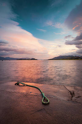 Photograph - Port Appin Sunrise by Alex Saunders
