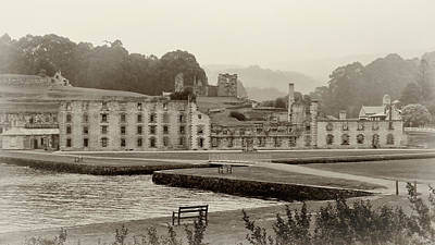 Photograph - Port Arthur Penitentiary by Nicholas Blackwell