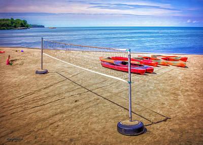Photograph - Port Austin Harbor Beach Toys by LeeAnn McLaneGoetz McLaneGoetzStudioLLCcom