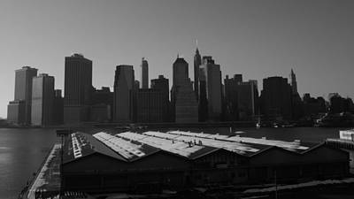 Photograph - Port Authority Pier Two Brooklyn by Christopher Kirby