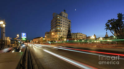 Photograph - Port Avenue Fenix Building Cadiz Spain by Pablo Avanzini