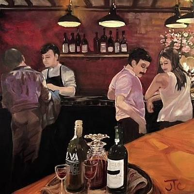 Painting - Port Bar by Julie Todd-Cundiff