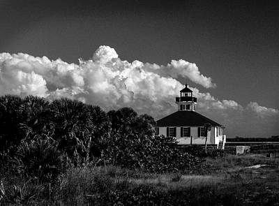 Charlotte Framed Photograph - Port Boca Grande Lighthouse Museum by Gene Camarco
