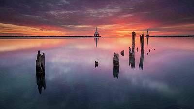 Photograph - Port Break by Josh Eral
