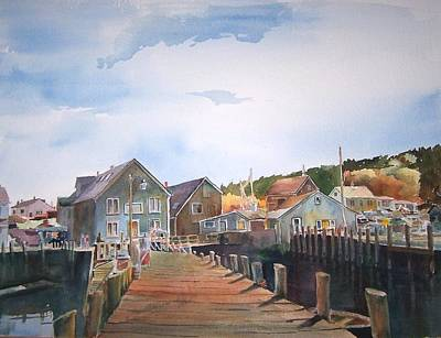South Boston Painting - Port Clyde, Maine by Dan McCole
