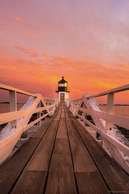 Mid-coast Maine Photograph - Port Clyde Maine - Marshall Point by Thomas Schoeller