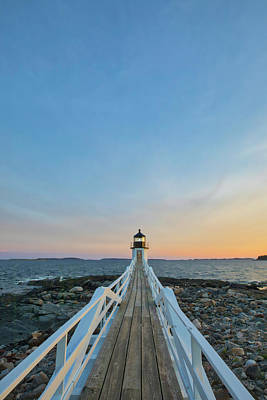 Photograph - Port Clyde Marshall Point Lighthouse by Juergen Roth