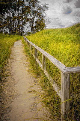 Photograph - Port Crescent State Park Walkway Michigan  by LeeAnn McLaneGoetz McLaneGoetzStudioLLCcom