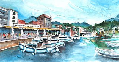 Painting - Port De Soller In Majorca 04 by Miki De Goodaboom