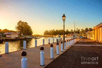 Photograph - Port Fairy Sunrise  Vg by Ray Warren