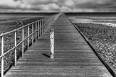 Photograph - Port Germein Long Jetty by Roger Passman