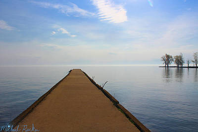 Painting - Port Hope Pier by Michael Rucker