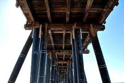 Photograph - Port Hueneme Pier - Looking Up 2 by Matt Harang