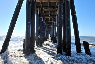 Photograph - Port Hueneme Pier - Waves by Matt Harang