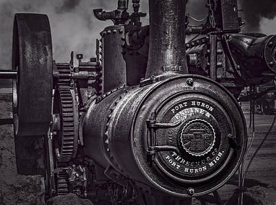 Keck Photograph - Port Huron Engine by F Leblanc