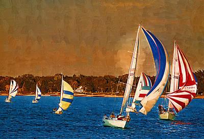 Port Huron Sailboat Race Original