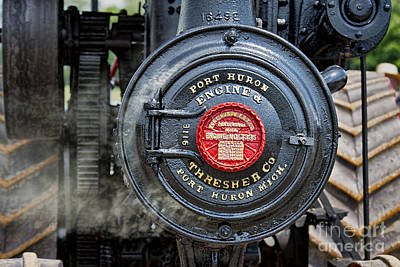 Photograph - Port Huron Steam Engine by David Arment