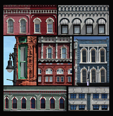 Photograph - Port Huron Windows 10 by Mary Bedy