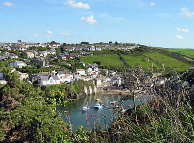 Photograph - Port Isaac 1 by Kurt Van Wagner