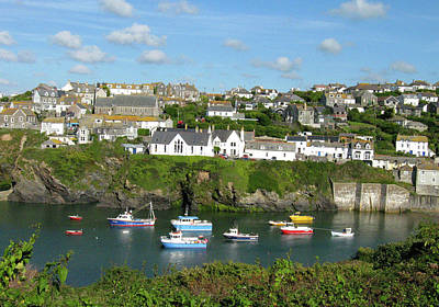 Photograph - Port Isaac 2 by Kurt Van Wagner