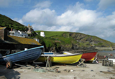 Photograph - Port Isaac Boats by Kurt Van Wagner