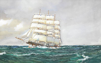 Sphere Painting - Port Jackson by Montague Dawson