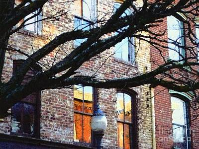 Photograph - Port Jervis Ny - Looking Up  by Janine Riley