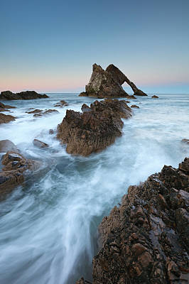 Photograph - Portknockie Sunset by Grant Glendinning