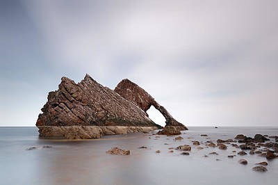 Photograph - Portknockie Stack by Grant Glendinning