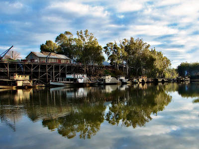 Kathryn Photograph - Port Of Echuca by Kathryn Potempski