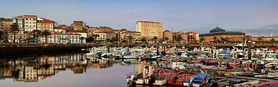 Pyrography - Port Of Ferrol Galicia Spain by Pablo Avanzini