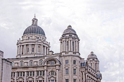 Photograph - Port Of Liverpool Building by Doc Braham