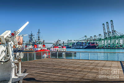 Photograph - Port Of Los Angeles San Pedro Ca by David Zanzinger
