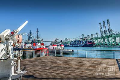 Photograph - Port Of Los Angeles San Pedro Ca by David Zanzinger