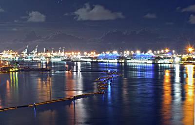Photograph - Port of Miami by Juan Trujillo