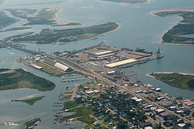 Photograph - Port Of Morehead City by Dan Williams