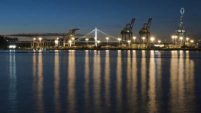 Photograph - Port Of Oakland by Laura Macky