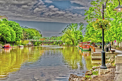 Photograph - Port Of Pittsford, Ny by William Norton